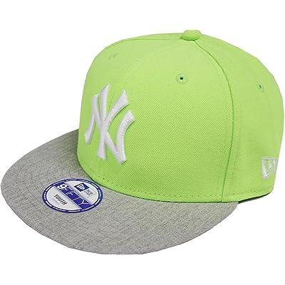 New Era New York Yankees Jr Pop Heather 9fifty 950 Youth Snapback Cap Kids Kinder Children