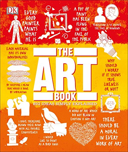 The Art Book: Big Ideas Simply Explained (Fine Masters Art Modern)