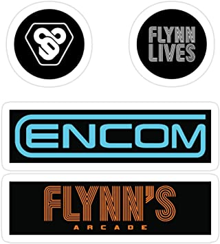 Vinyl Sticker for Cars, Trucks, Water Bottle, Fridge, Laptops Tron: Legacy - Sticker Pack Stickers (3 Pcs/Pack): Amazon.es: Bricolaje y herramientas