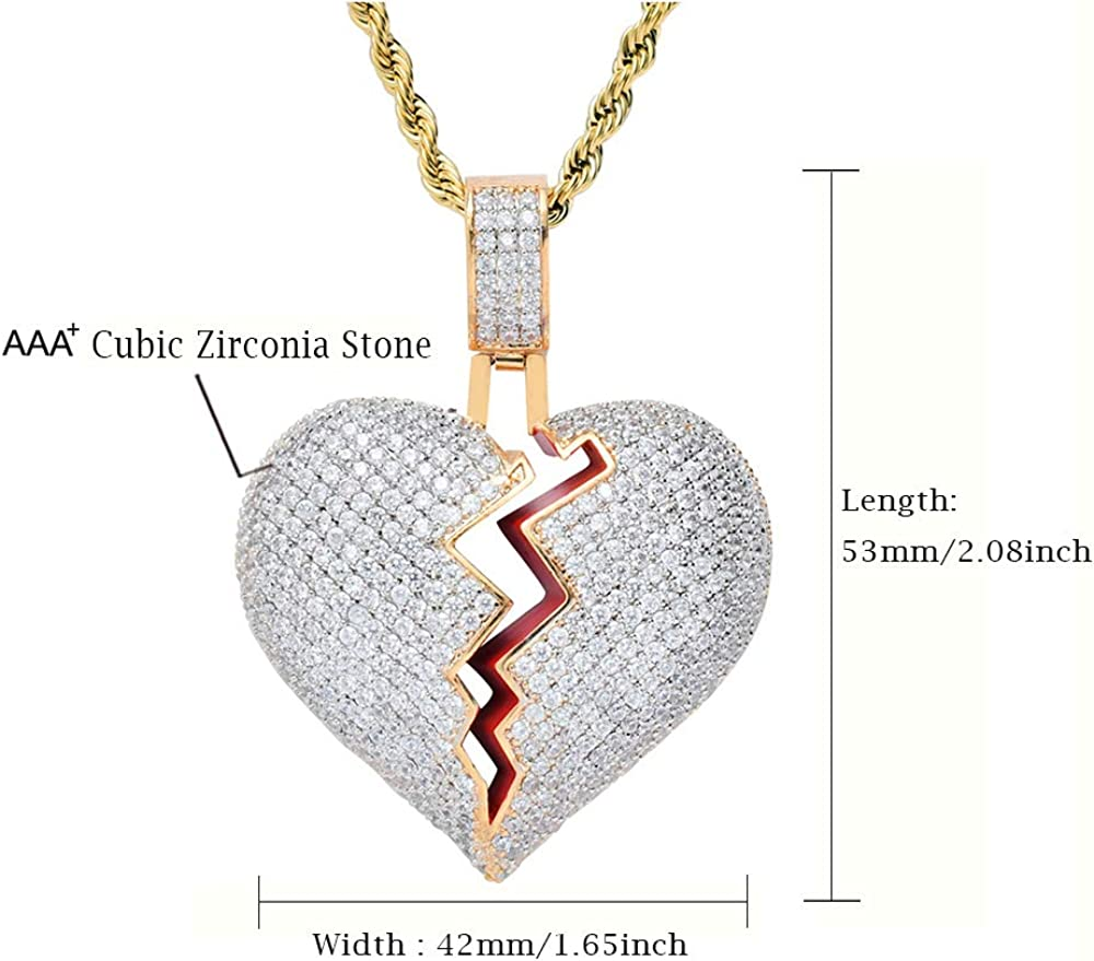 Meichang Scarlett Personalized 925 Sterling Silver 2 Heart Pendant Necklace with Birthstone for Friend Gift