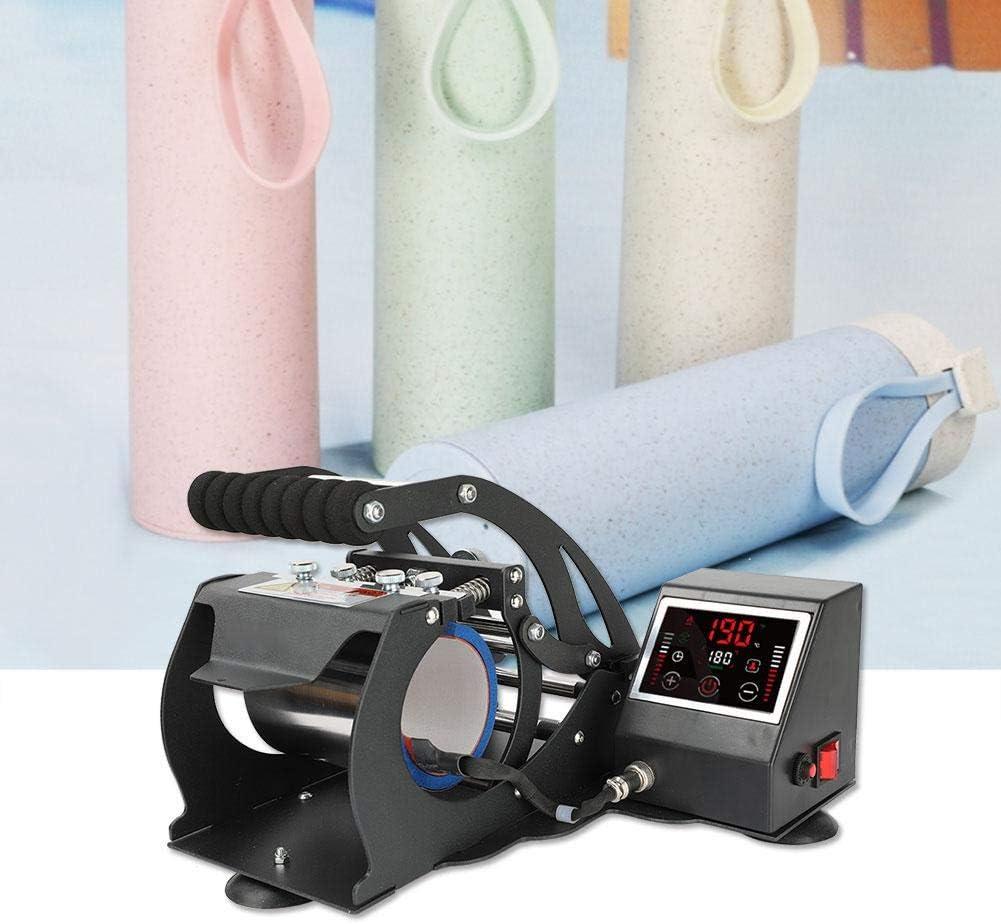 Zoternen Presse /à Chaud pour Impression /à Sublimation avec /écran LCD num/érique 110-220 V Press Heat Machine Mug pour Tasses r/églage Automatique de la temp/érature Noir