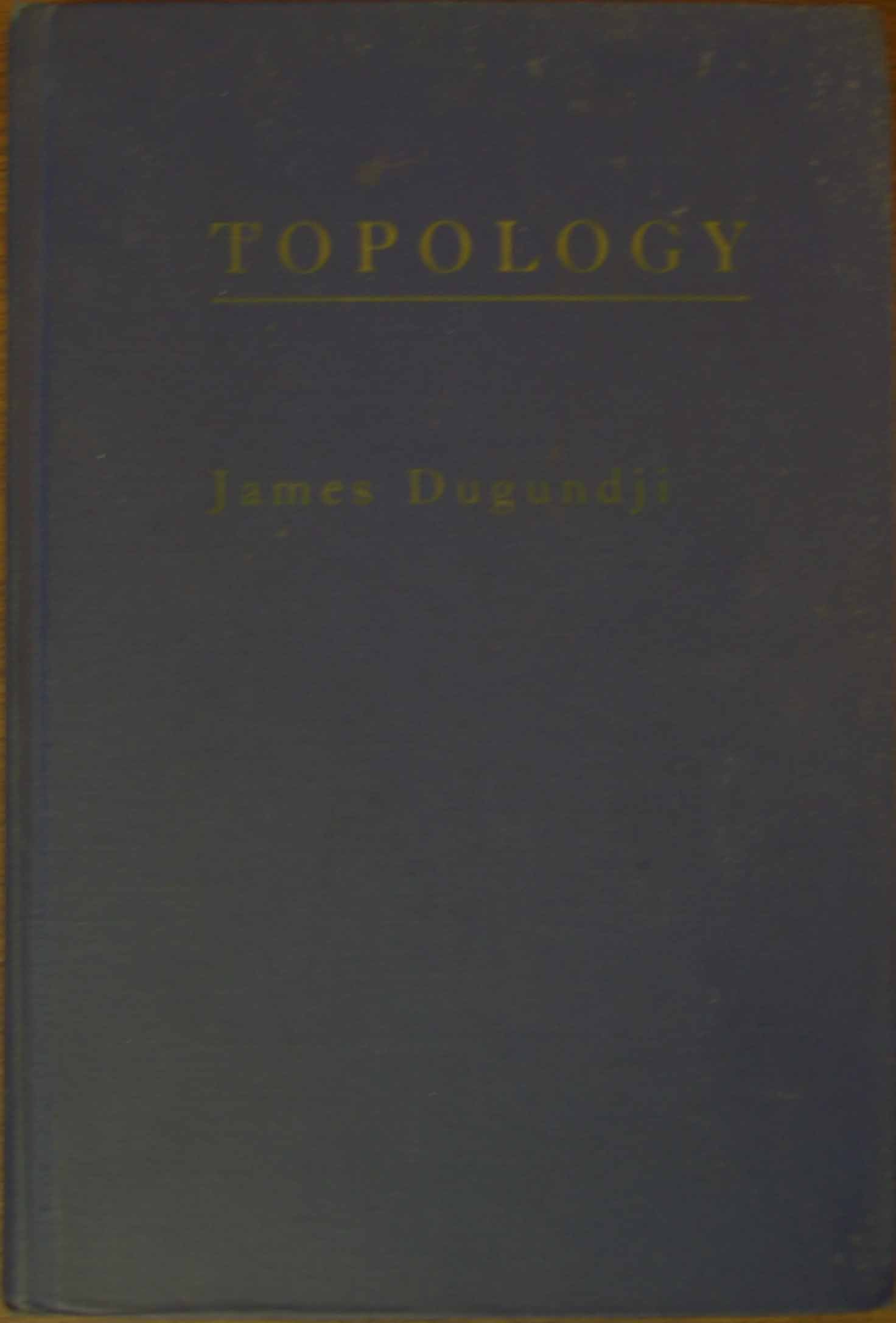 james dugundji topology