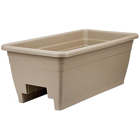 Lovely Akro Mils (SPX24DB0E32) Deck Box Planter, Mocha, 12 Inch