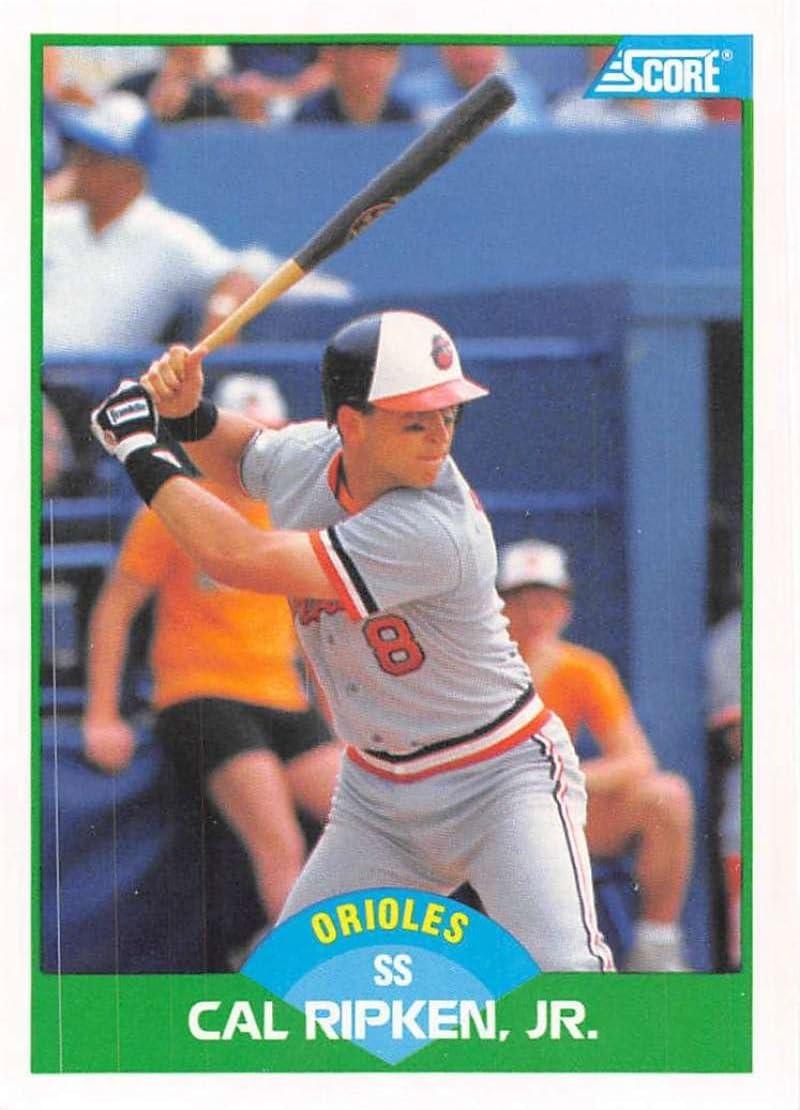 Baseball Card Cal Ripken Jr. #15 1989 Score - Base