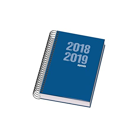 Dohe 10873 - Agenda escolar día página, color azul