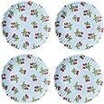 Amazon.com | Pastel Polka Dot Picnic/Dinner Plate, 9 Inch