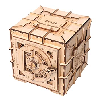 Kesoto Kit de Construcción De Modelos Mecánicos de Mano Caja de ...