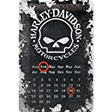 Harley Davidson Motorcycles Calendar Metal Plaque - 20 x...