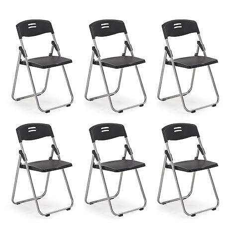 Fabulous Amazon Com Lbymyb Folding Chair Computer Chair Training Inzonedesignstudio Interior Chair Design Inzonedesignstudiocom