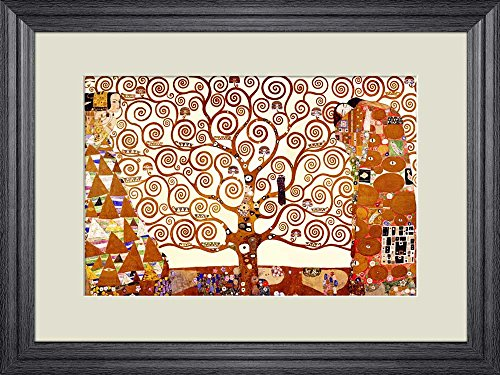 Creative 3D Visual Effect Wall Mural The Tree of Life 1905 by Gustav Klimt Peel Stick Wall Decor