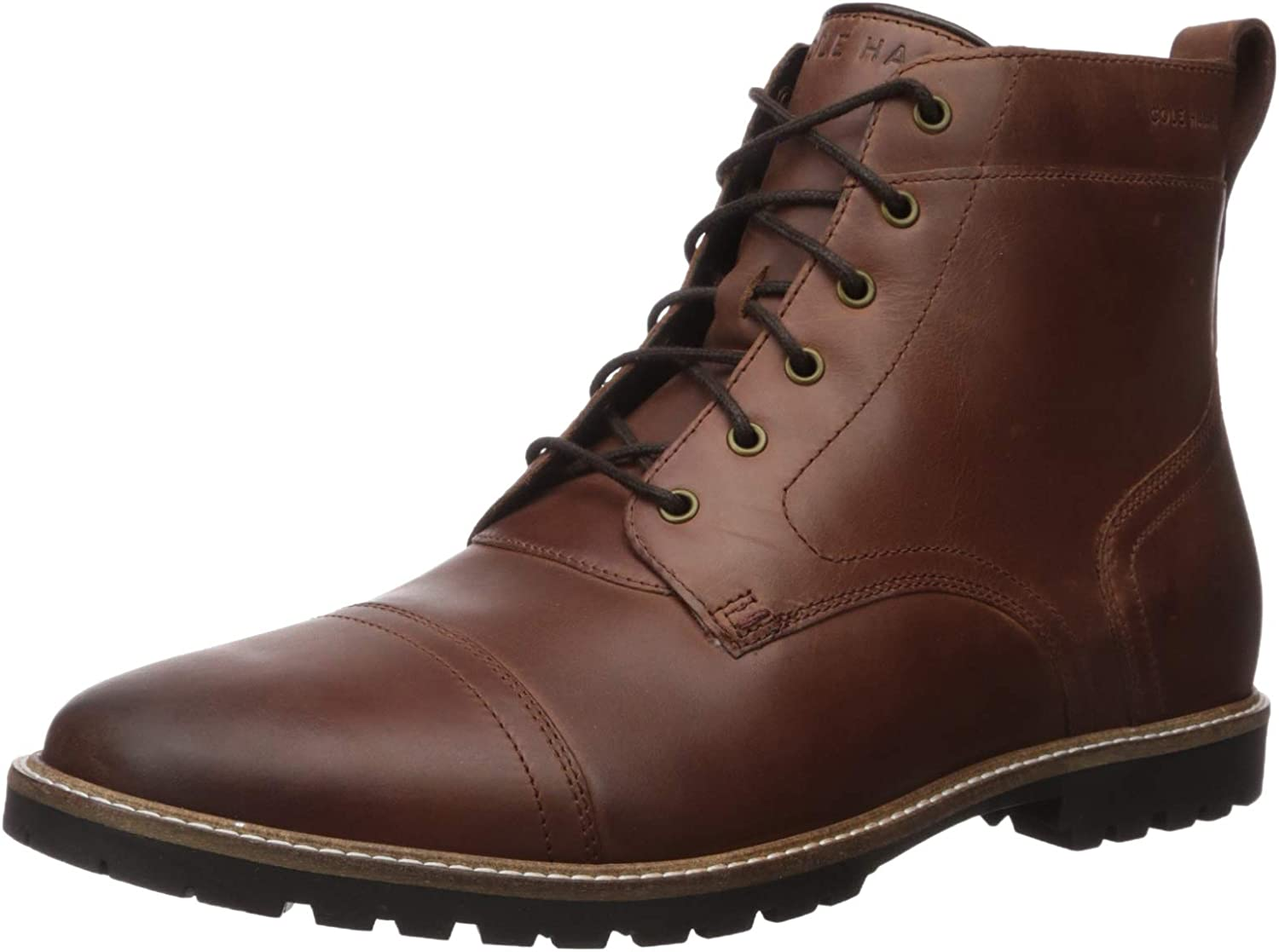 Cole Haan Men's Nathan Cap Boot:Chestnut Fashion Boot