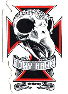 Powell Peralta sticker Tony Hawk Skateboards 3 x 3.65 decal