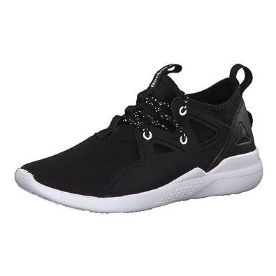 68ab4f229eca Reebok Damen Cardio Motion Fitnessschuhe, Mehrfarbig (Black White Silver  Met 000)