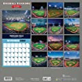 2018 Baseball Stadiums Wall Calendar