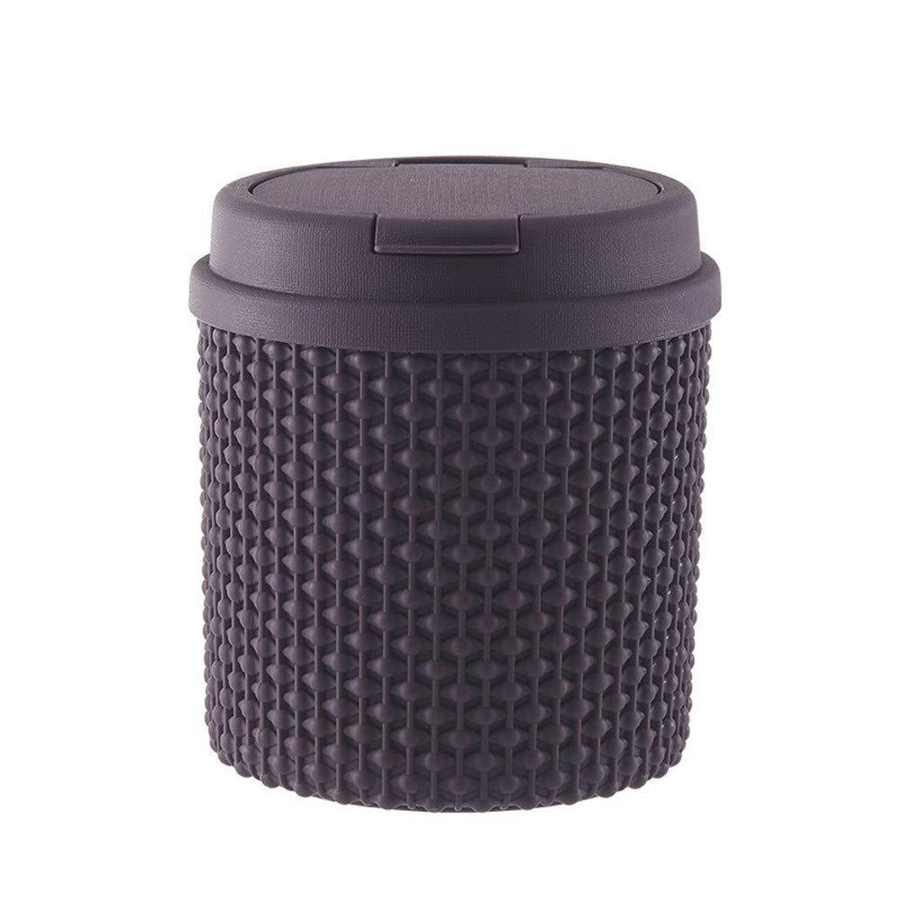 QYJpB Papelera Contenedor de basura Mini Escritorio Bote de basura ...