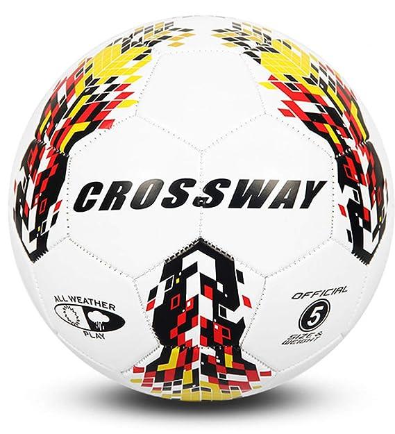 CROSSWAY balón fútbol, tamaño 5: Amazon.es: Deportes y aire libre