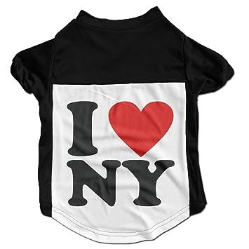amazon com i love ny new york dog clothes t shirt dog coats pet rh amazon 1332f7768bb