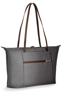 Briggs & Riley Kinzie Street Horizontal Tote in Gray | Luggage Pros