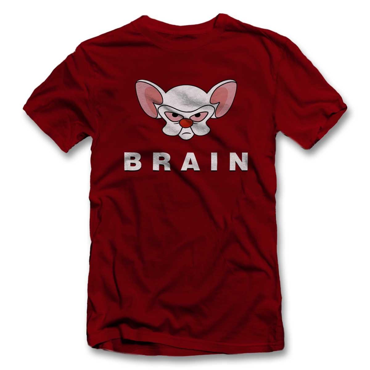 89ff8d52ec5 shirtground Pinky Brain Camiseta S-XXL 12 Colores Colours  Amazon.es  Ropa  y accesorios