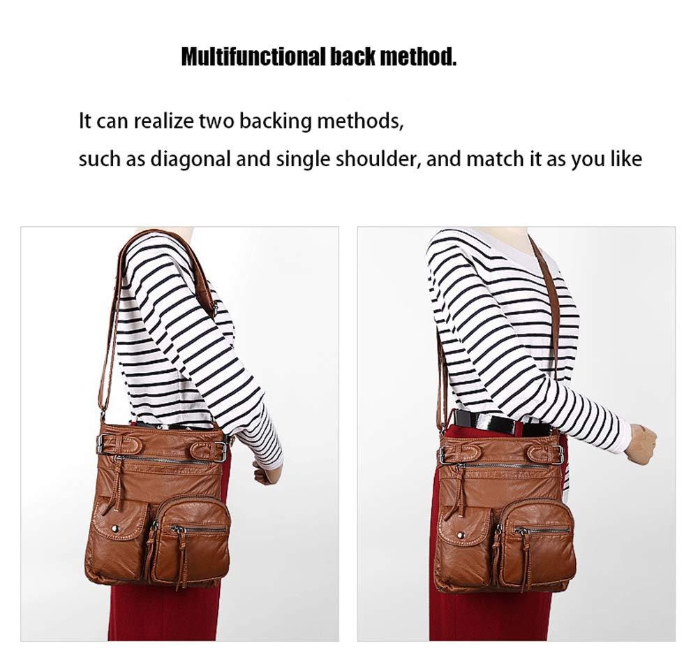 Ysswjzz Crossbody väska messengerväska axelväska handväskor för kvinnor lämpliga shopping resor semester fritid K