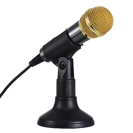 Ammoon transhine pc-309 Mini voz/instrumento micrófono portátil ...
