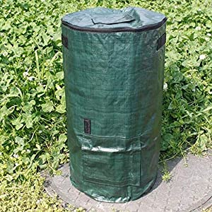 Yard Waste Bags Organic Waste Kitchen Garden Yard Compost Bag Environmental Cloth Planter Kitchen Waste Disposal Organic Compost Bag