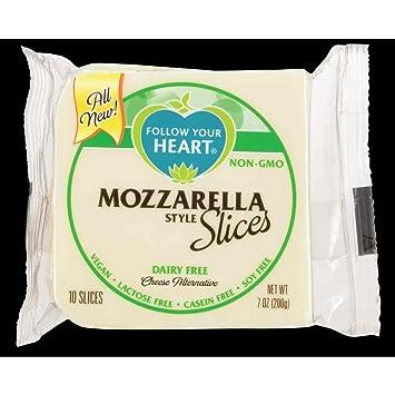 Siga su corazón Mozzarella estilo pizarras queso alternativa ...