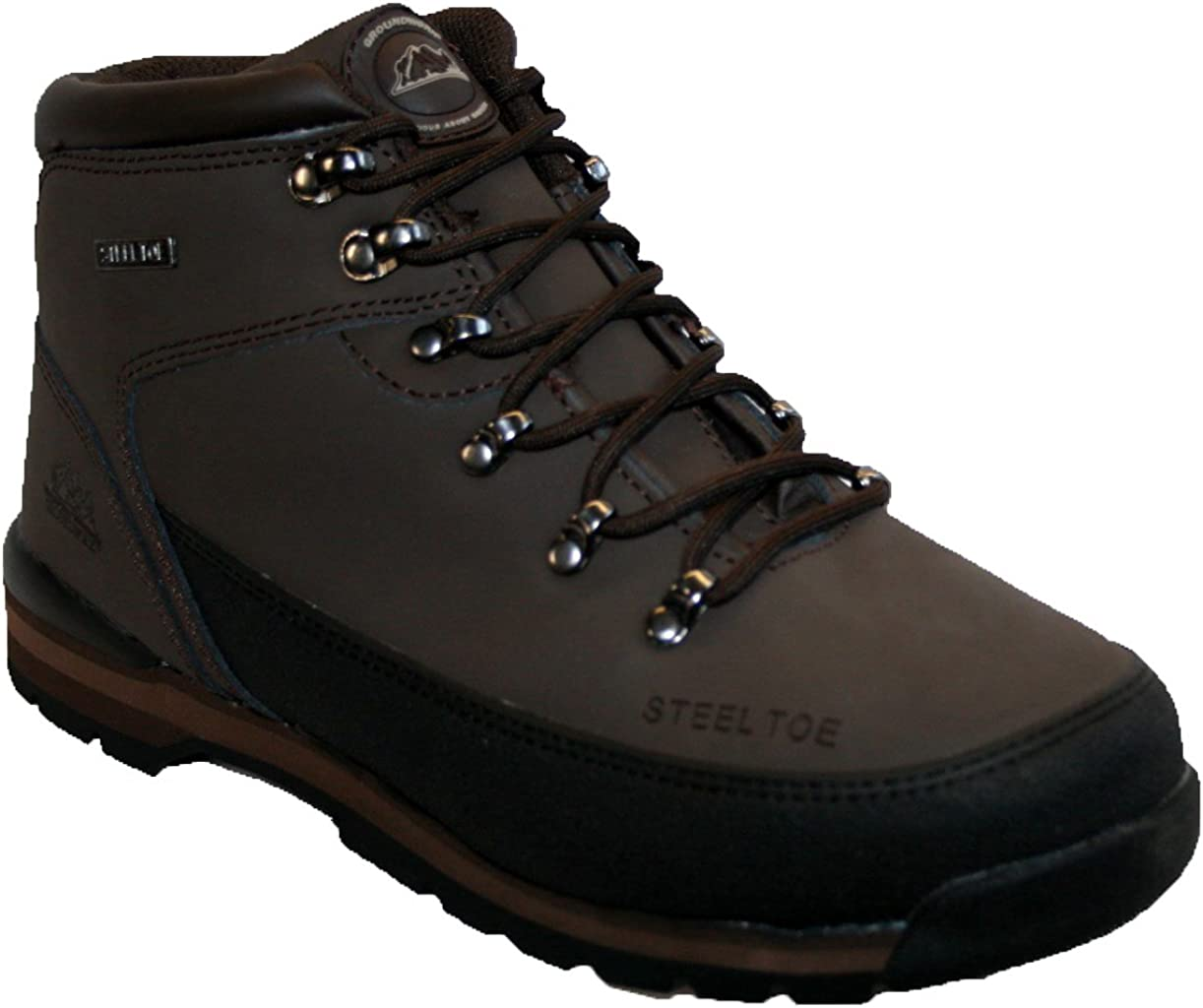GR77 STEEL TOE CAP BOOT BY GROUNDWORK MENS SAFETY BOOTS MENS WORK BOOTS