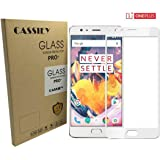 Cassiey Oneplus 3 Oneplus 3T Tempered Glass Oneplus 3 Full Cover Screen Protector Gold One Plus 3 Screen Replacement 5.5""