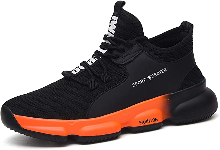 SROTER Safety Shoes Breathable Steel