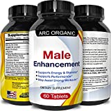 45 mg Top Rated Male Enhancement Tablets for Men - Tongkat Ali Extract + Maca Root Powder Herbal Libido Booster – Increase Stamina Best Sex Drive Enhancing Pills + Libido Enhancer – By Arc Organic