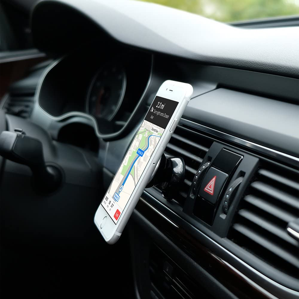 MQbix Car Mount for Smartphones Black