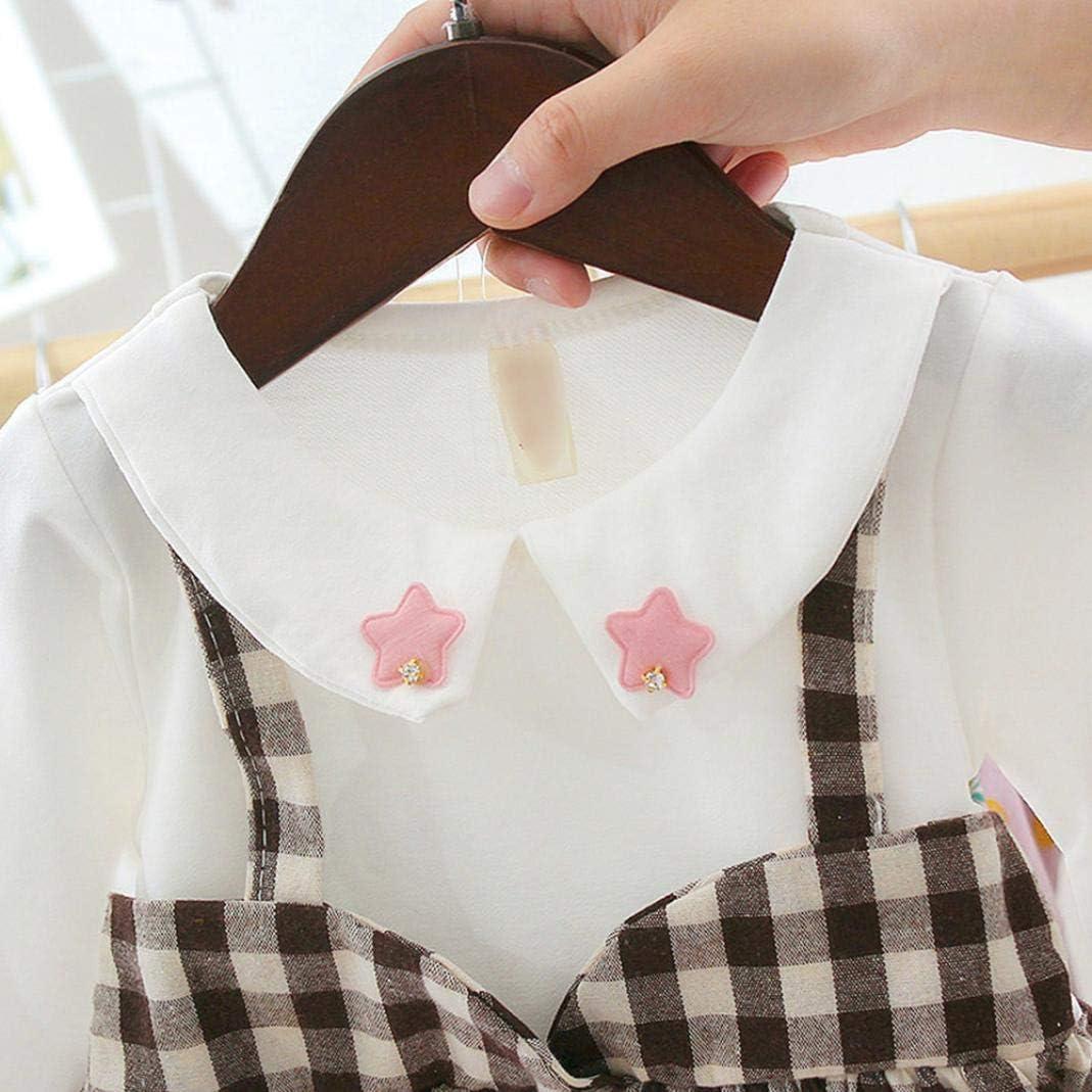 MJuan-clothing 1-3 Year Old Female Baby Stitching Cotton Plaid Skirt Female Baby Autumn Dress Western Skirt Girl