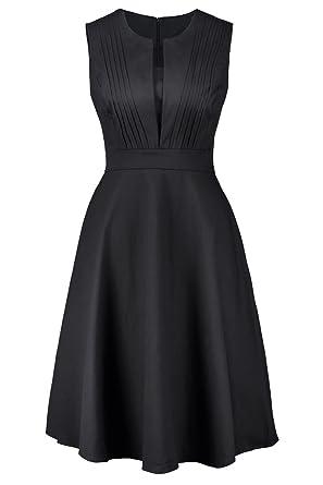 Frauen, Jahrgang 1940, Ist Halter Hebt Swing Ruched Kleid