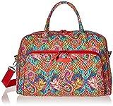 Vera Bradley Luggage Women's Weekender Paisley in Paradise Duffel Bag Review