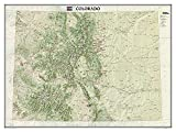 Colorado Terrain [Tubed] (National Geographic Reference Map)