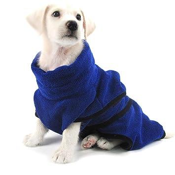 XDYFF Ropa para Perro baño Toalla Absorbente Toalla de Secado rápido Toalla para Mascotas Toalla de