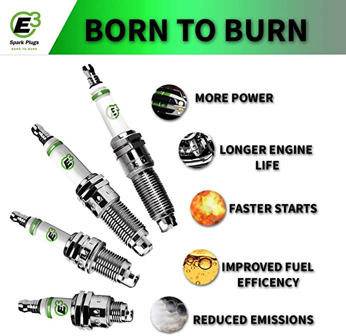 E3 Spark Plugs E3.62 Automotive Truck 1-Pack Van and SUV OEM Replacement Spark Plug