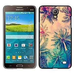 LECELL--Funda protectora / Cubierta / Piel For Samsung Galaxy Mega 2 -- sol palmeras verano LA los Ángeles --