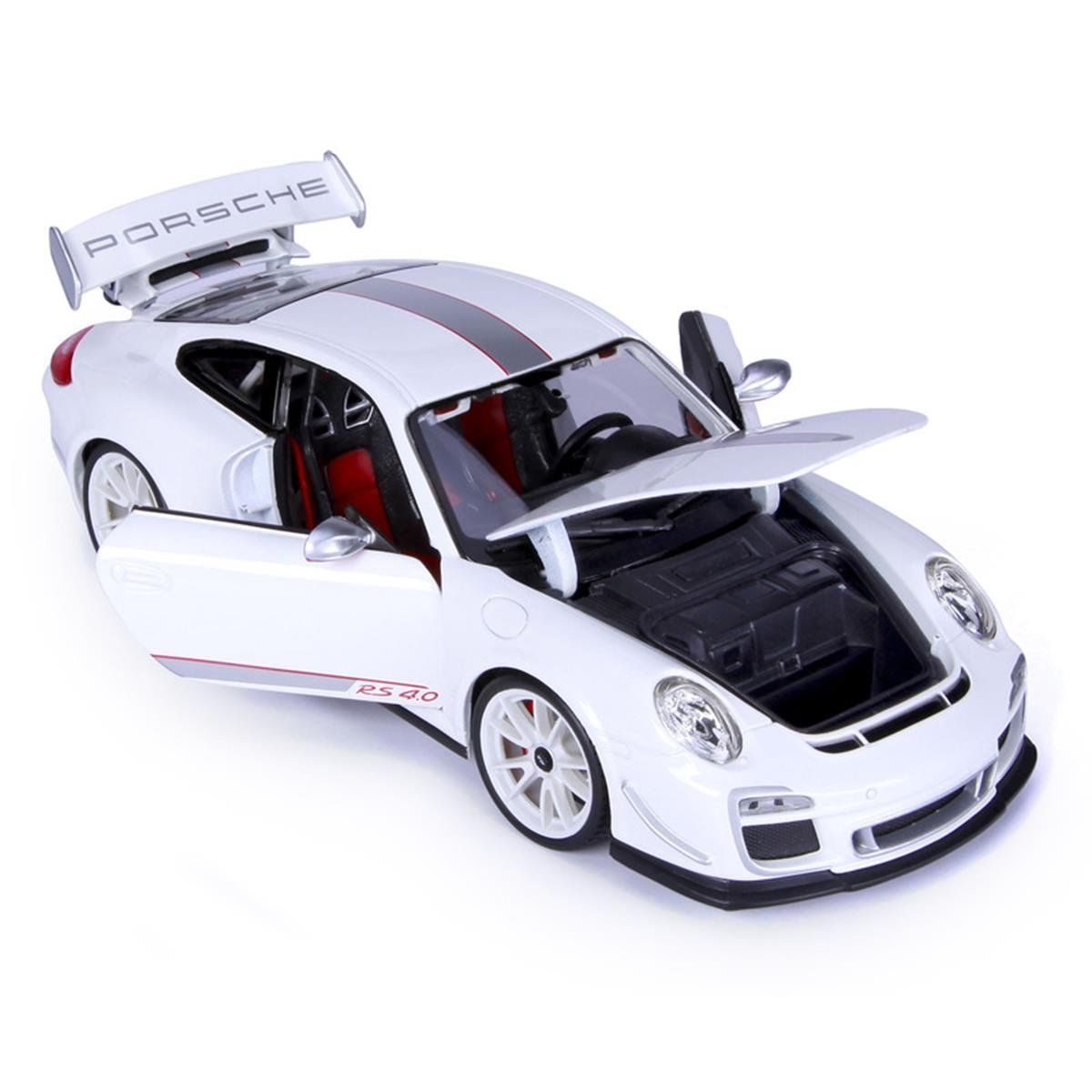 Kids Fun Playing Toy Porsche 1 18 Scale 911 Gt3 Rs 4.0 Model Diecast Sports Car
