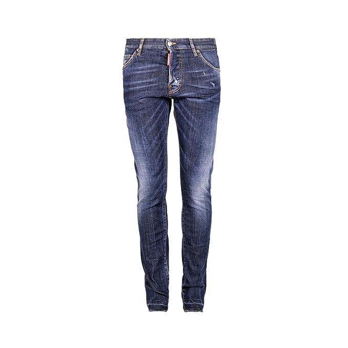 DSquared2 Cool Guy Jean S71LB0236 S30342 470 Jeans Blu Dsquared D2 Uomo   Amazon.it  Abbigliamento 8a8f2e0dbbff