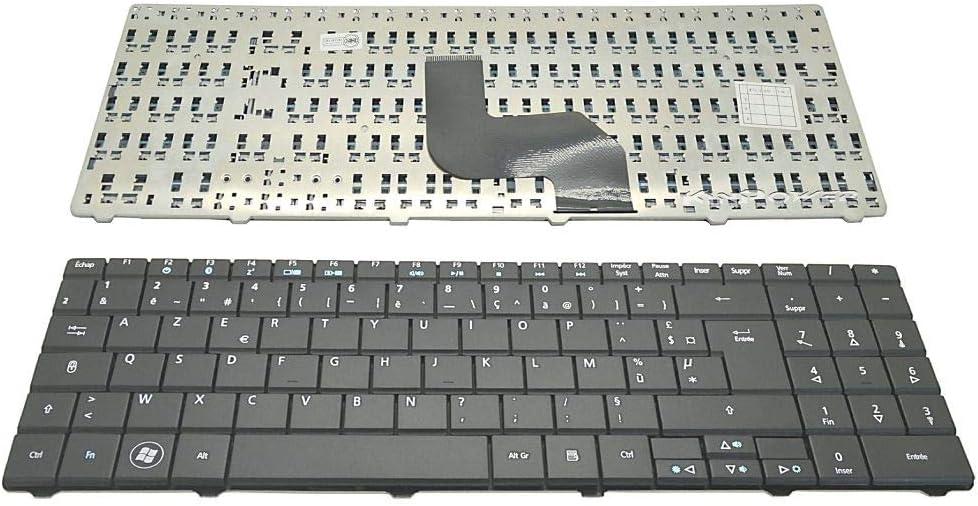 KinPower - Teclado AZERTY francés para Acer eMachines E525 E625 E627 E628 E725