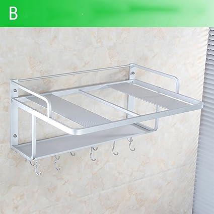 Scaffalature In Alluminio.Portasciugamano Stanza Da Bagno Scaffalature In Alluminio