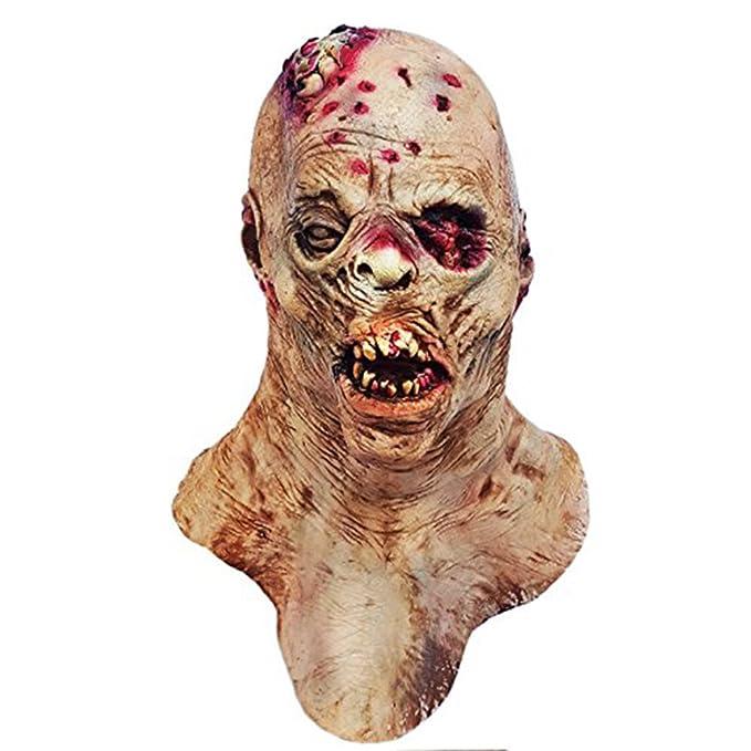 Halloween Novelty Mask Molezu Latex Costume Party