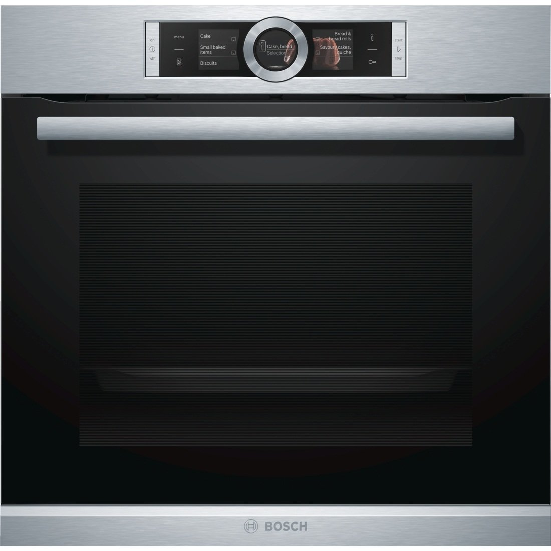 Bosch Serie 8 HBG6764S1 Built-in Electric 71L 3650 W A + Black, Stainless Steel – Ovens (Medium, Built-in, Electric, A +, Black, Stainless Steel, Top Front)