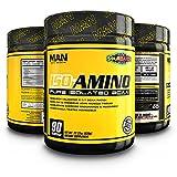 Cheap MAN Sports ISO-AMINO BCAA Amino Acid Powder, Sour Batch, 90 Servings, 630 Grams