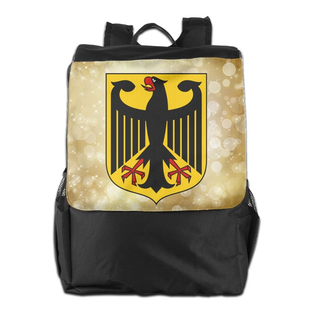 Nollm Coat Of Arms Of Germany Waterproof Backpack Travel Shoulder Bag For Men Women And Teens by Nollm (Image #1)