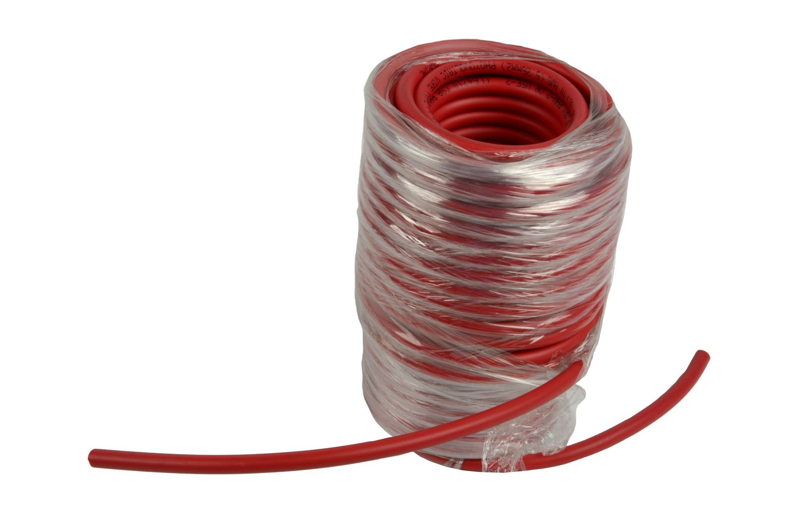 Temco 10 AWG Solar Panel Wire 50' Power Cable Red UL 4703 Copper Made in USA PV Gauge