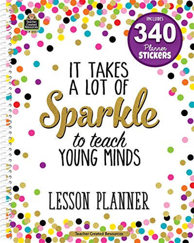 Confetti Lesson Planner by Teacher Created Resources