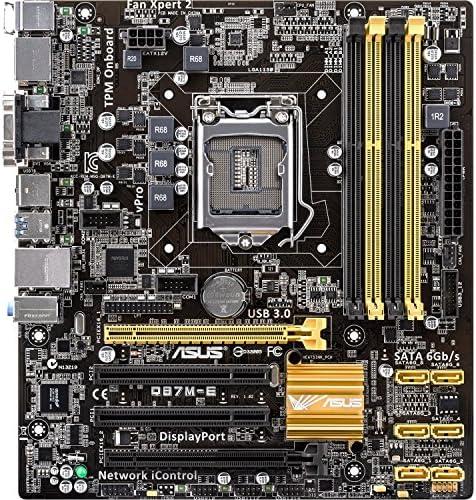 ASUS Q87 M-E – Placa base de sobremesa Intel Q87 Express Chipset – Socket H3 LGA-1150 – Retail Pack – Micro ATX – Procesador de 1 x apoyo – 32 GB DDR3